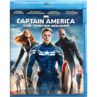 Blu-ray Marvel Captain America - The Winter Soldier