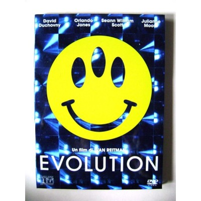 Dvd Evolution di Ivan Reitman con cover 3-D 2001 Usato