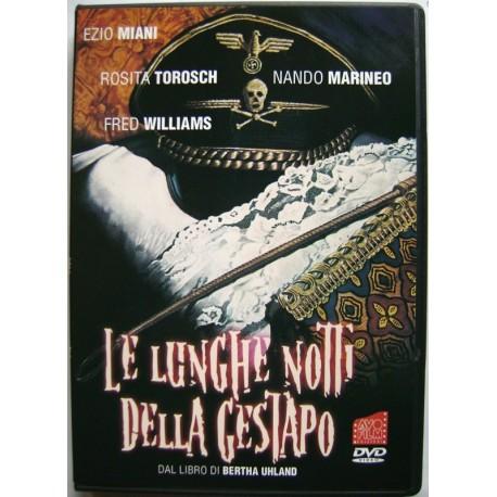Dvd Le Lunghe notti della Gestapo di Fabio De Agostini 1977 Usato raro