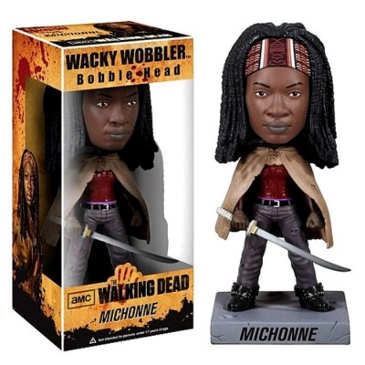 Bobble-head Michonne The Walking Dead ufficiale serie tv by Funko