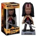 Bobble-head Michonne The Walking Dead ufficiale serie tv by Funko (NOT MINT)