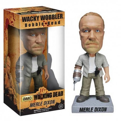Bobble-head Daryl Dixon Biker The Walking Dead ufficiale serie tv AMC by Funko