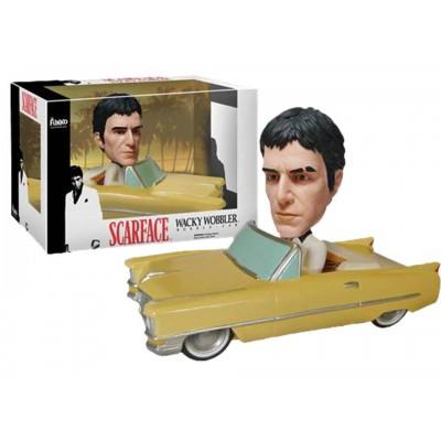 Bobble-head Tony Montana Scarface wacky wobbler Al Pacino gessato blu by Funko