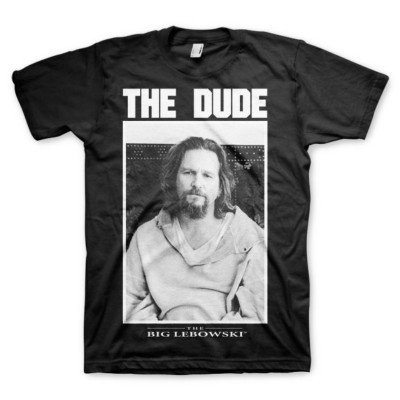 T-shirt The Dude The Big Lebowski picture Uomo ufficiale film