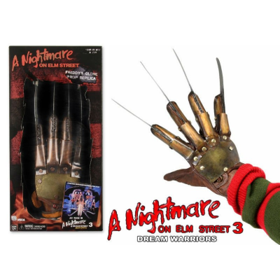 Guanto Nightmare on Elm Street Freddy Krueger Injected Molded Glove by Rubies