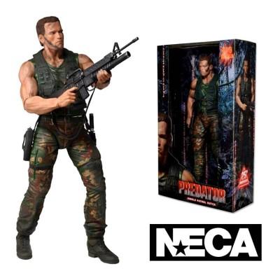 Action figure Jungle Encounter Dutch Predator Serie 9 ufficiale film by Neca