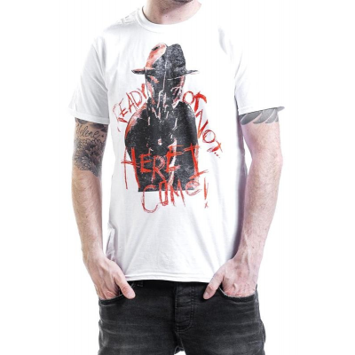 T-shirt Friday The 13th - Venerdì 13 Jason Mask Uomo ufficiale Plastic head