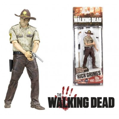 Action Figure Rick Grimes The Walking Dead deluxe 10-Inch 25 cm by McFarlane