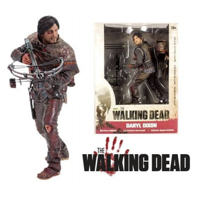 Action Figure Daryl Dixon deluxe The Walking Dead 10-Inch McFarlane