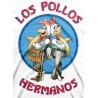 T-shirt Breaking Bad Los Pollos Hermanos maglia Uomo ufficiale serie tv by Hybris