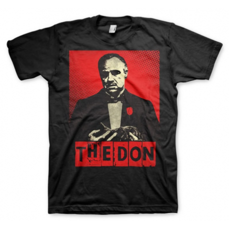 T-shirt Il Padrino Don Vito Corleone Respect the family maglia Uomo ufficiale
