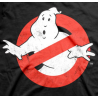 T-shirt Ghostbusters Logo Slimer si illumina al buio maglia Uomo ufficiale film