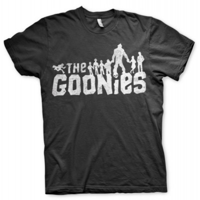 T-shirt The Goonies Logo silhouette maglia Donna by Hybris