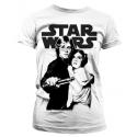 T-shirt Star Wars Vintage Poster Leia & Luke Woman