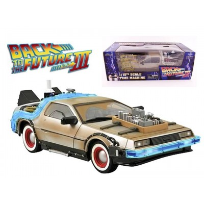 Modellino Ritorno al Futuro DeLorean EE Time machine Back to future 1/15 32 cm