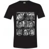 T-shirt Star Wars Chewbacca fototessere photo ID maglia Uomo ufficiale film