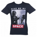 T-Shirt Star Wars Darth & Leia Give me my space man