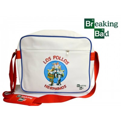 Borsa a tracolla Breaking Bad Heisenberg logo messenger bag ufficiale Timecity