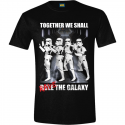 T-shirt Star Wars Stormtrooper Party Rave man