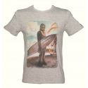 T-Shirt Star Wars Chewbacca Wookiee Surf Beach Chewie maglia Uomo ufficiale
