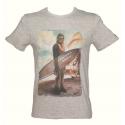 T-Shirt Star Wars Chewbacca Wookiee Surf Beach Chewie man