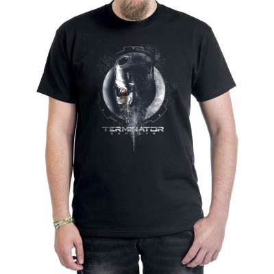 T-Shirt Terminator - I'll Be Back Schwarzenegger T-800 maglia Uomo Timecity