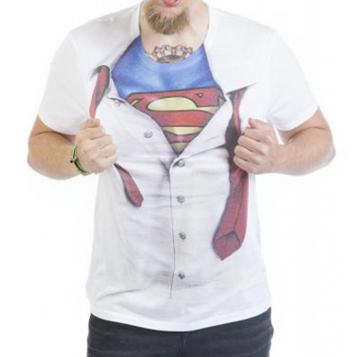 T-shirt Superman shield supereroe Dc comics maglia Donna ufficiale