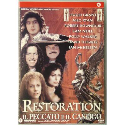 Dvd Restoration - Il peccato e il castigo con Robert Downey Jr 1995 Usato