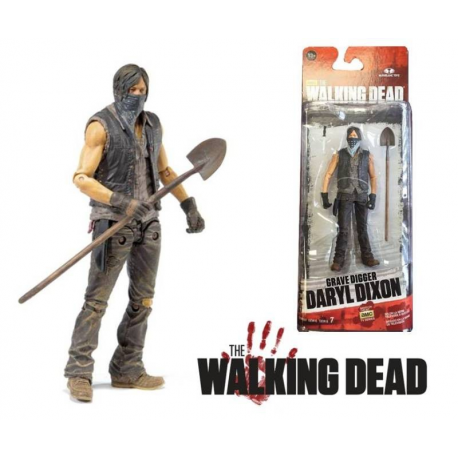 Set 5 Action Figure The Walking Dead - Serie 5 completa 13 cm by McFarlane