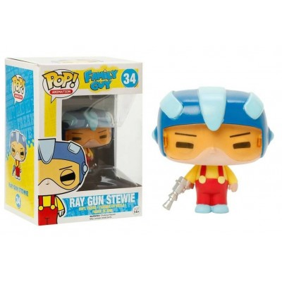 Figura vinile Stewie Griffin with Rupert Family Guy Pop Funko Vinyl figure n° 33