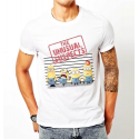 T-shirt Minions Unusual Suspects Despicable Me 2 man