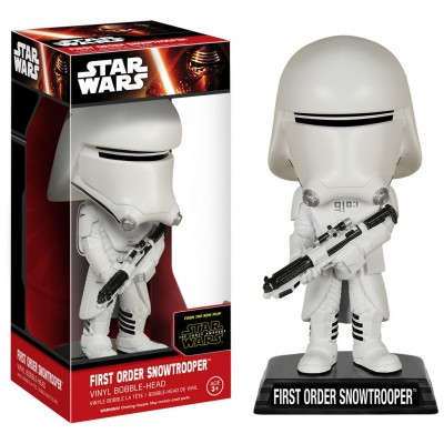 Bobble-head Star Wars VII - The Force Awake Finn wacky wobbler 15 cm Funko
