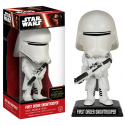 Bobble-head Star Wars VII First Order Snowtrooper (Stormtrooper) wacky wobbler 15 cm Funko