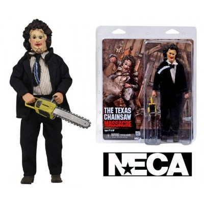 Action figure The Texas Chainsaw Massacre Leatherface retro Clothed 40th An Neca