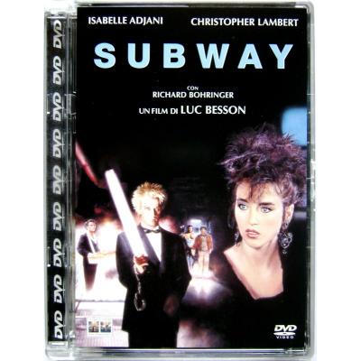 Dvd Subway - ed. Super Jewel Box di Luc Besson 1985 Usato