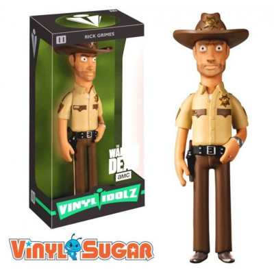 Vinyl Idolz The Walking Dead Rick Grimes Figure Vinyl Sugar n° 11