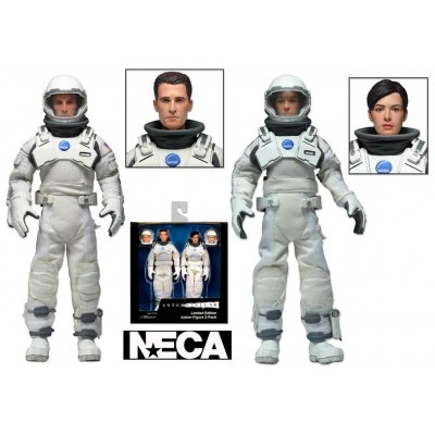Action Figure Interstellar Limited Edition Clothed 2-pack Box set Neca