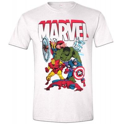 T-shirt Marvel Superheroes comics Super eroi maglia Uomo ufficiale Timecity