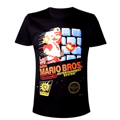 T-shirt Nintendo Super Mario Bros maglia Uomo ufficiale Timecity
