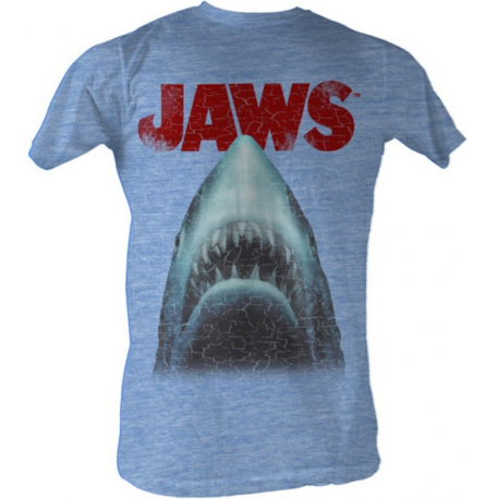 T-shirt Lo Squalo Jaws Stressed Out maglia Uomo
