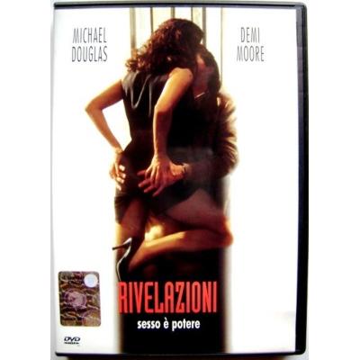 Dvd Rivelazioni di Barry Levinson con Demi Moore 1994 Usato