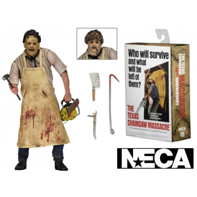 Action figure Texas Chainsaw Massacre Leatherface Ultimate 40th Neca