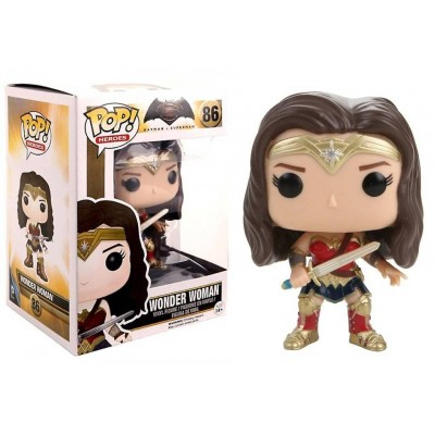 Batman v Superman Dawn of Justice Wonder Woman Pop! Funko Vinyl