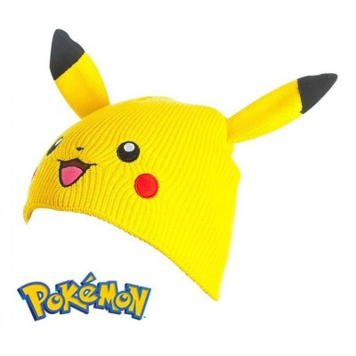 Berretta Pokemon Pikachu Beanie with Ears Winter Hat cappello