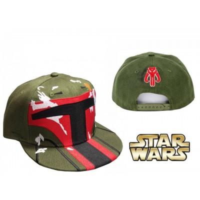 Cappello Boba Fett Star Wars snapback Cap Hat ufficiale Lucasfilm
