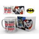 Tazza in ceramica Batman Harley Quinn Jokes on You Mug 9 cm ufficiale GB Eye