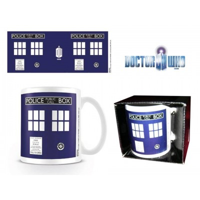 Tazza in ceramica Doctor Who Tardis Police public call box Mug