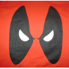 Felpa Deadpool Angry Eyes Men Hoodie ufficiale Marvel