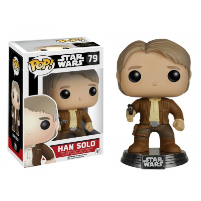 Han Solo Star Wars VII Pop Funko bobble-head Vinyl figure n° 79