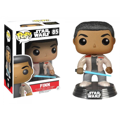 Finn with Lightsaber Star Wars VII Pop! Funko bobble-head Vinyl